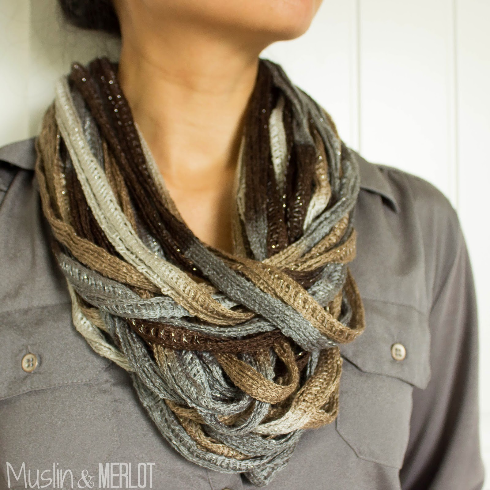 here s a 5 dollar 5 minute no sew no knit project that anyone can make