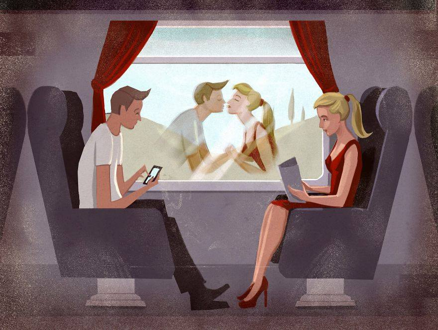 The Absurdities of Life in the 21st Century Captured in Powerful Illustrations - Could Be Love