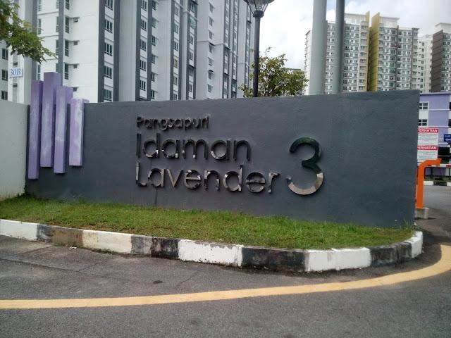 Homestay Sungai Ara di Pangsapuri Idaman Lavender 3 Bayan Lepas Pulau Pinang