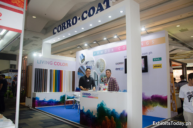 Corro Coat exhibition booth