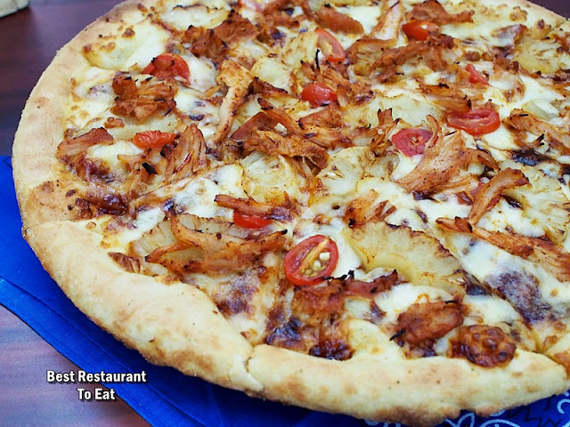 DOMINO PIZZA MALAYSIA PROMOTION - Pulled-Chicken Pizza
