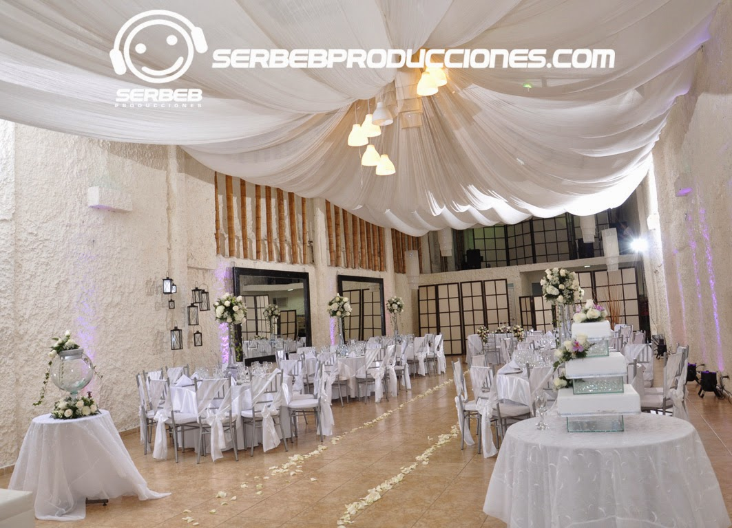 Decorar Salon Boda Organización De Bodas Decoración Boda Tiffany En Blanco