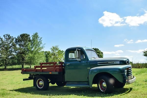 Ford F Truck Restored
