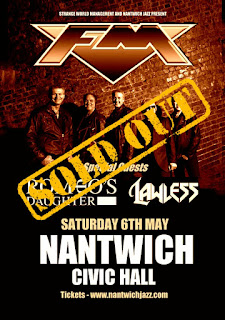 FM / Romeo's Daughter / Lawless - Nantwich Civic Hall - 6 May 2017 - poster