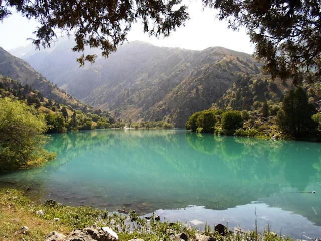 Озеро Тимур-дара - ущелье Каратаг, горы Таджикистана - Фото-обзор похода
