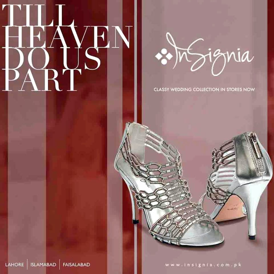 1c2e6dc8c90 Insignia Footwear Summer Collection 2014 | Bridal Wedding Shoes/Sandals |  Fancy High Heels 2014-15