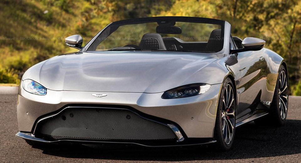 Aston Martin New Vantage Volante Render Ms Blog