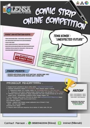 Lomba Membuat Komik Strip Online Competition 2018 SMA 1 Negeri Sidoarjo