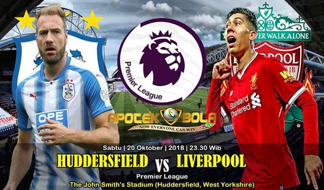 Prediksi Huddersfield Town vs Liverpool 20 Oktober 2018