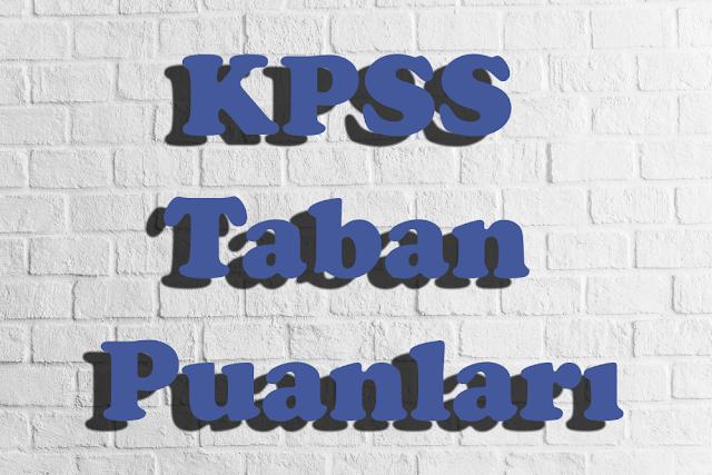 Mühendislik Bölümleri KPSS 2017/1 Atama Taban Puanları