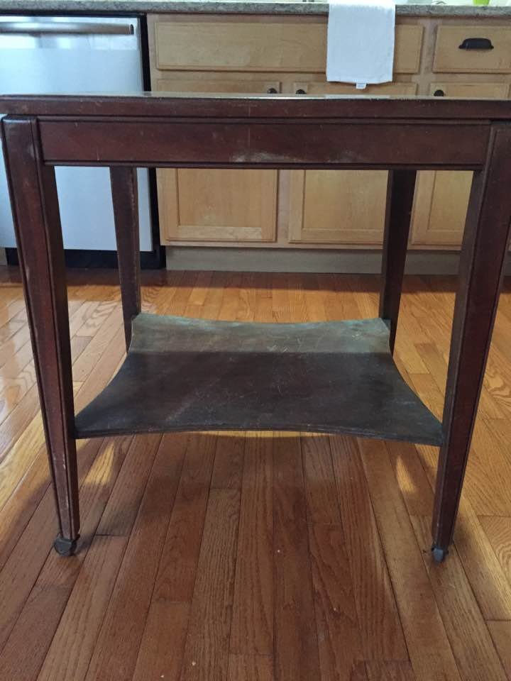 Vintage mid-century side table