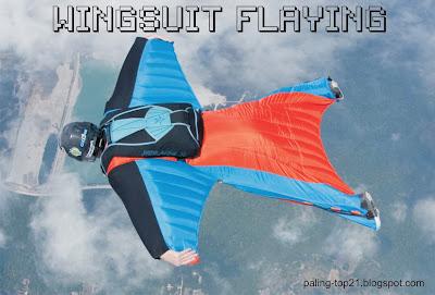 wingsuit flaying