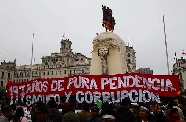 Marcha contra la corrupción, segunda movilización contra Poder Judicial y CNM