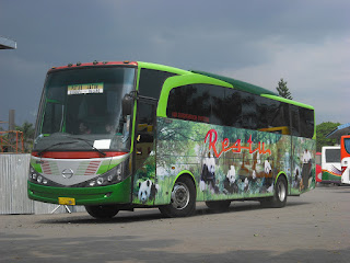 gambar Bus PATAS Restu Panda Malang Surabaya