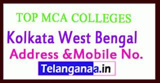 Top MCA Colleges in Kolkata West Bengal