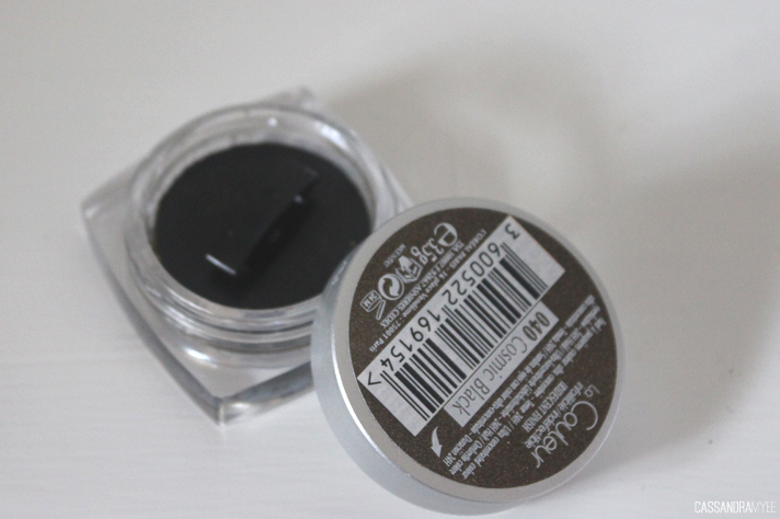 L'OREAL | Color Infallible Eyeshadow in Cosmic Black Review + Swatch