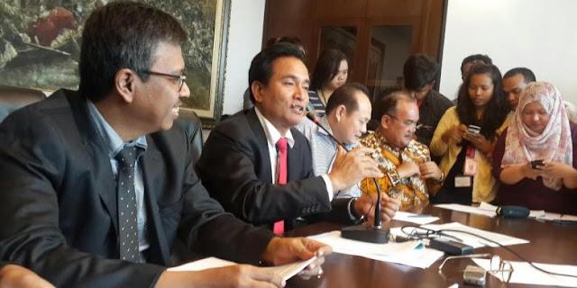 Yusril: Jika Pemprov DKI SP 3 PT Godang Tua Jaya, Kami Akan Gugat