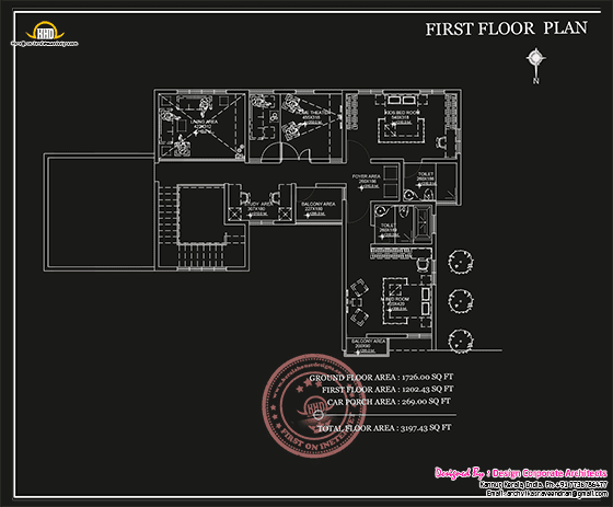 Ground floor plan sketch