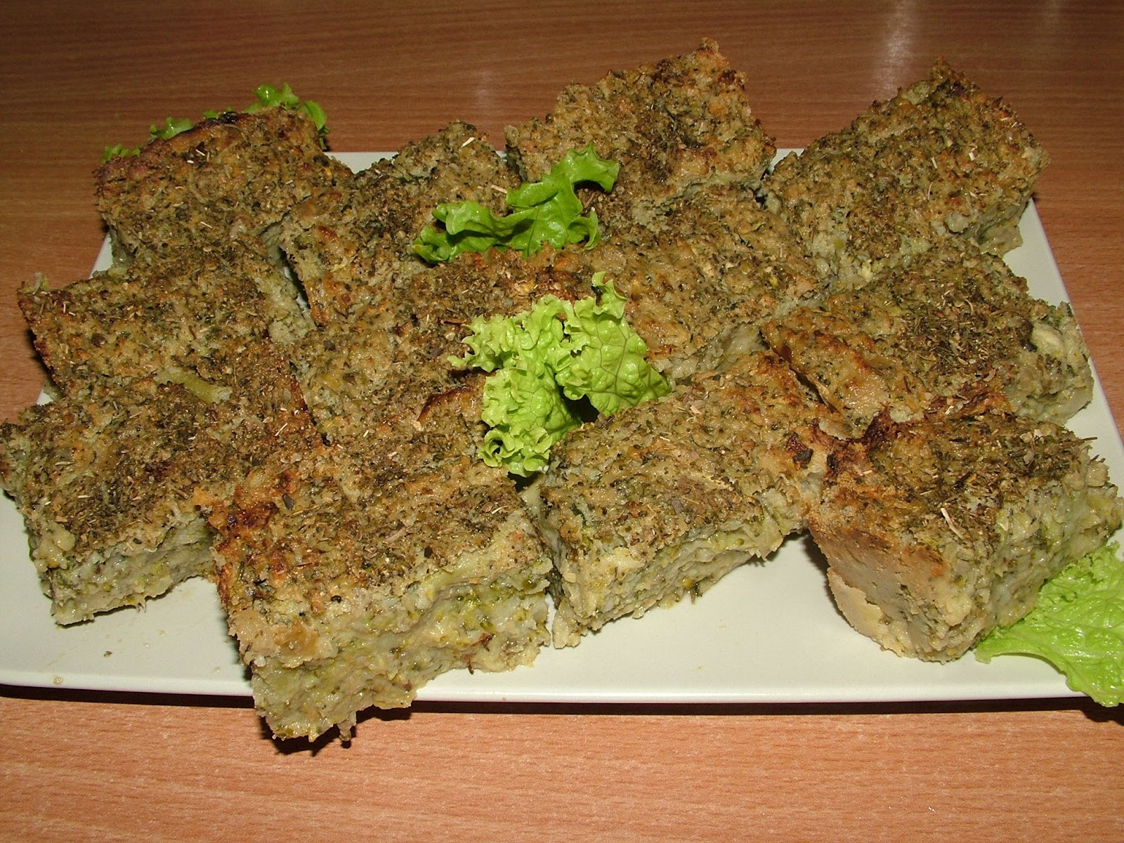 Pasztet z brokuła