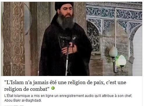 L'islam est une religion de combat