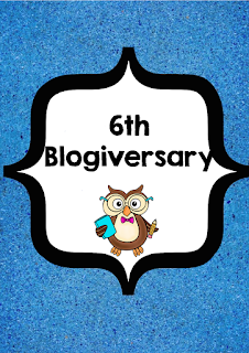 6th Blogiversary - Sale Dec. 28th-29th 2017 20% off