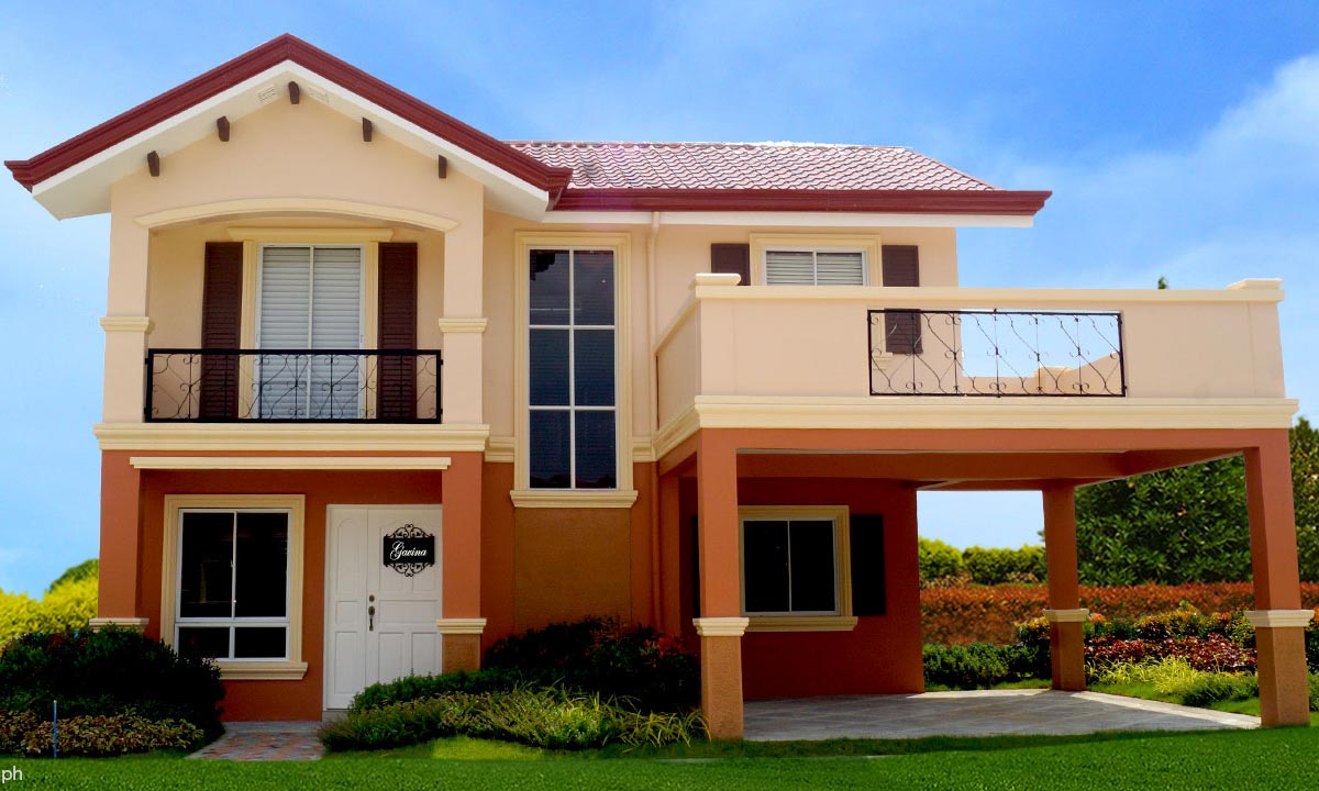 Camella homes camella carson gavina house and lot for Camella homes design with floor plan