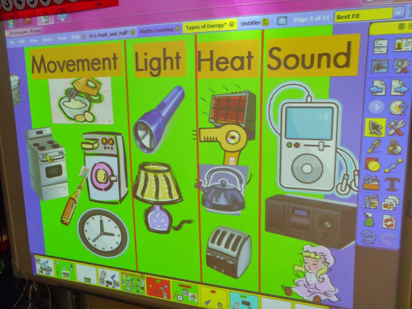Science Projects Forces And Types Of Energy