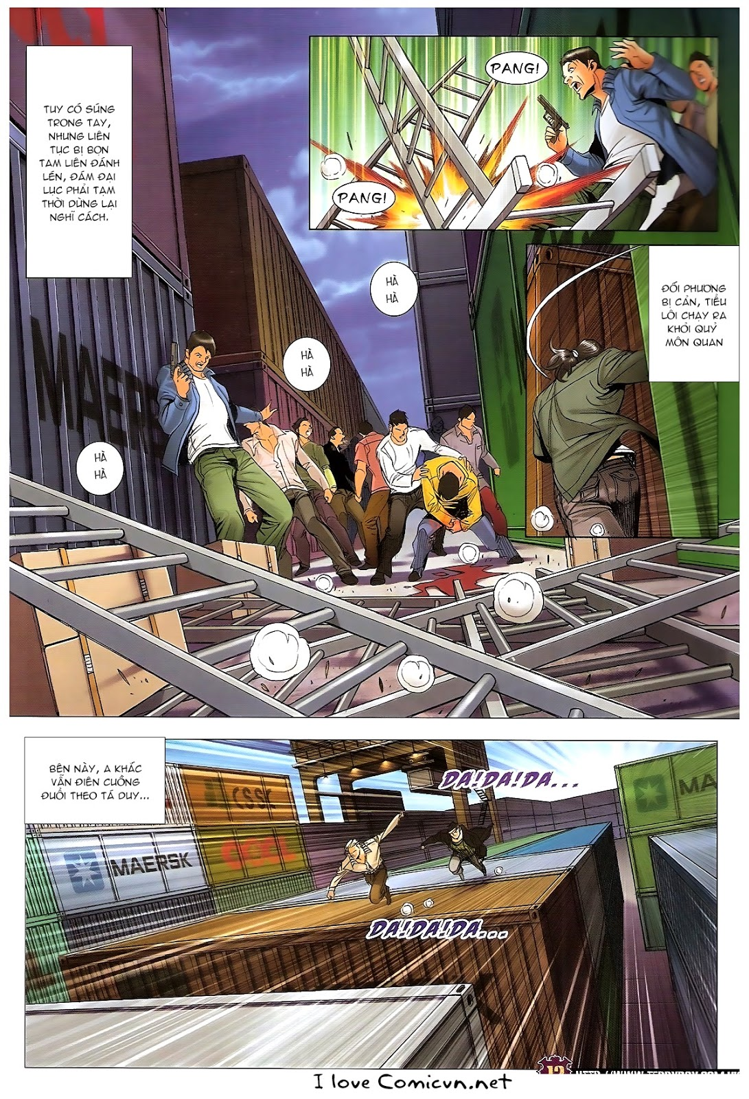 Người Trong Giang Hồ chapter 1673: tắm máu lưu phù sơn trang 10