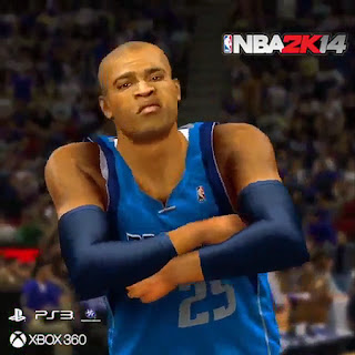 NBA 2K14 Vince Carter Dunk With Celebration