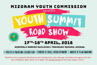 Mizoram Youth Commission   YOUTH SUMMIT & ROAD SHOW 2018