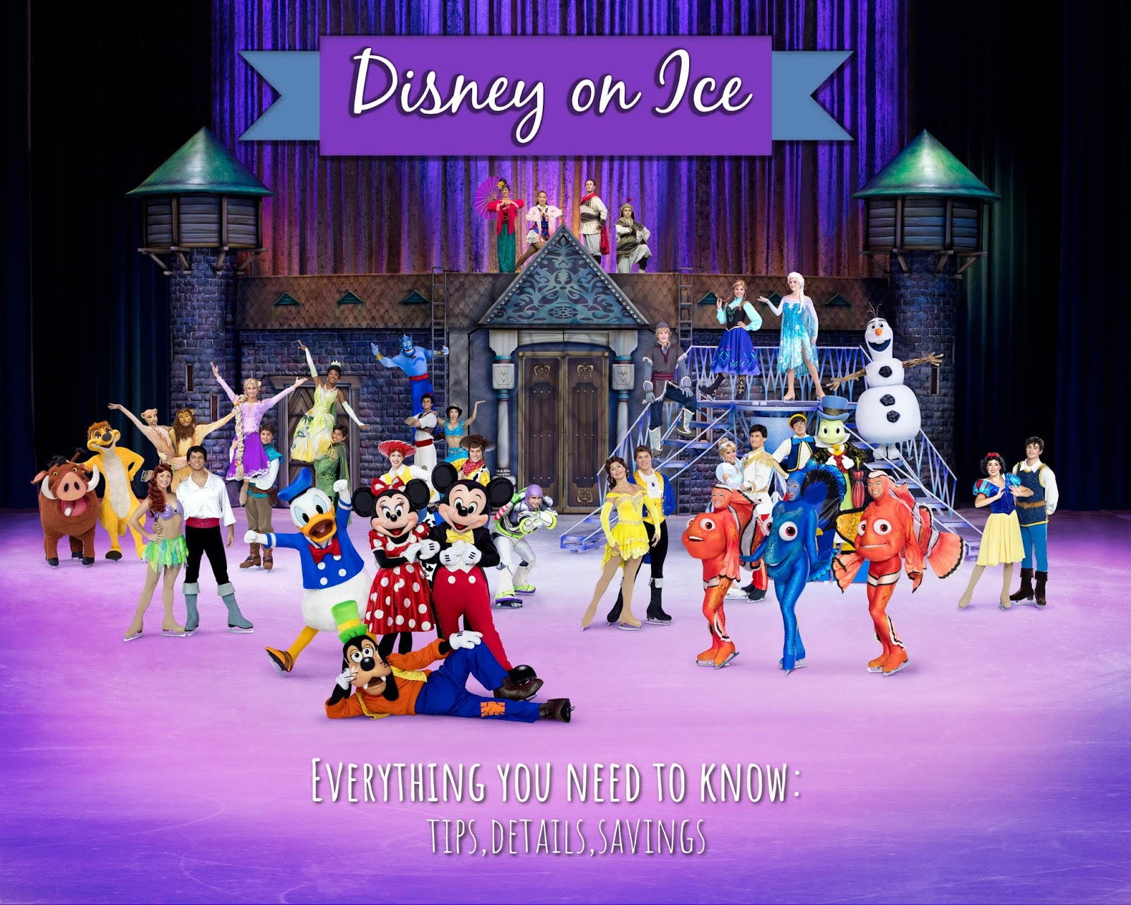Carefree Blonde Spring Family Activities In Atlanta Disney On Ice
