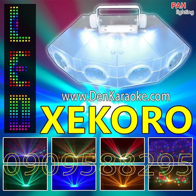 Đèn phòng hát karaoke mini led Xekoro 4 mắt