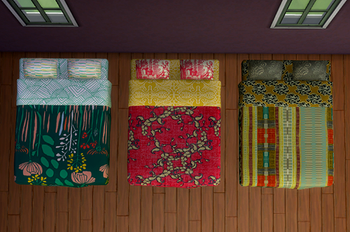 My Sims 4 Blog 18 Veranka Double Bed Mattress Recolors By Simpothecary