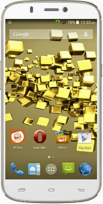 Micromax Canvas Gold A300 Kitkat Android Mobile