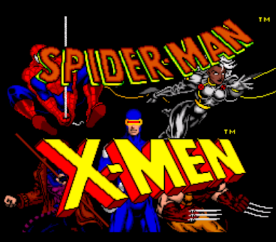【SFC】蜘蛛人與特異功能組,Spider-Man and the X-Men in Arcade's Revenge!