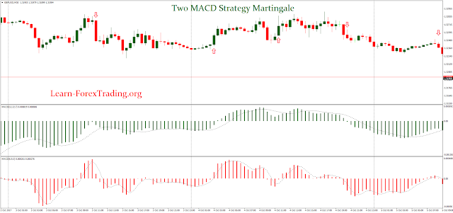Two MACD Strategy Martingale
