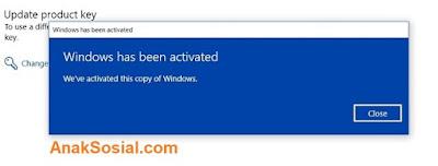 Aktifkan Windows 10 Permanen 4