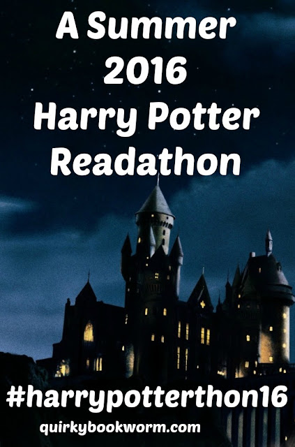 #harrypotterthon16 - a Summer 2016 Harry Potter Readathon. Because I love this series SO MUCH that I just can't resist reading it again!