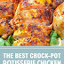 The Best Crock-Pot Rotisserie Chicken #instantpot #chickenrecipes