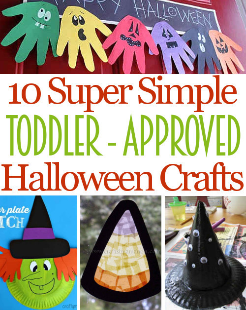 10 Fun Toddler Approved Halloween Crafts Diy Home Sweet Home