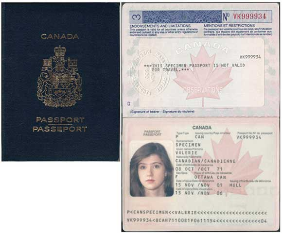 Canadian Passport Validity For Travel To Usa