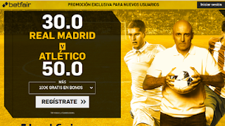 betfair supercuota Real Madrid v Atletico 8-4-2018