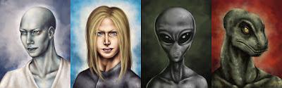 Ufologia, Raças Alienígenas, Greys, Annunakis