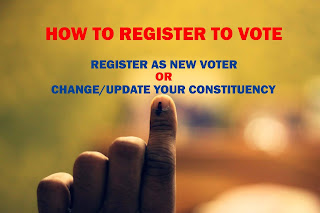 how to register and vote online