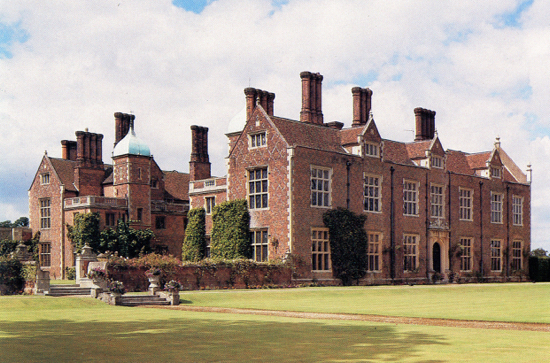 Postcard of North Mymms House in the 1960s. Image from The Peter Miller Collection