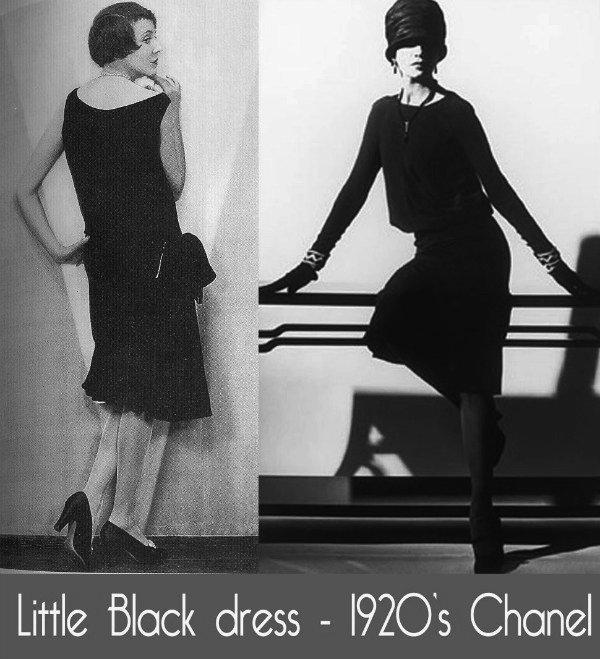 Vestido pretinho básico criado por Chanel