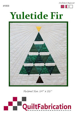 Yuletide Fir by QuiltFabrication pattern cover page