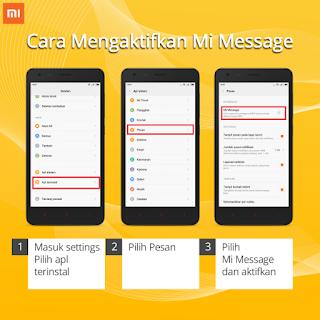 Cara Mengirim SMS Gratis Via Mi Message