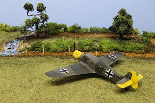 Bf 108 Taifun d'Eduard au 1/48.
