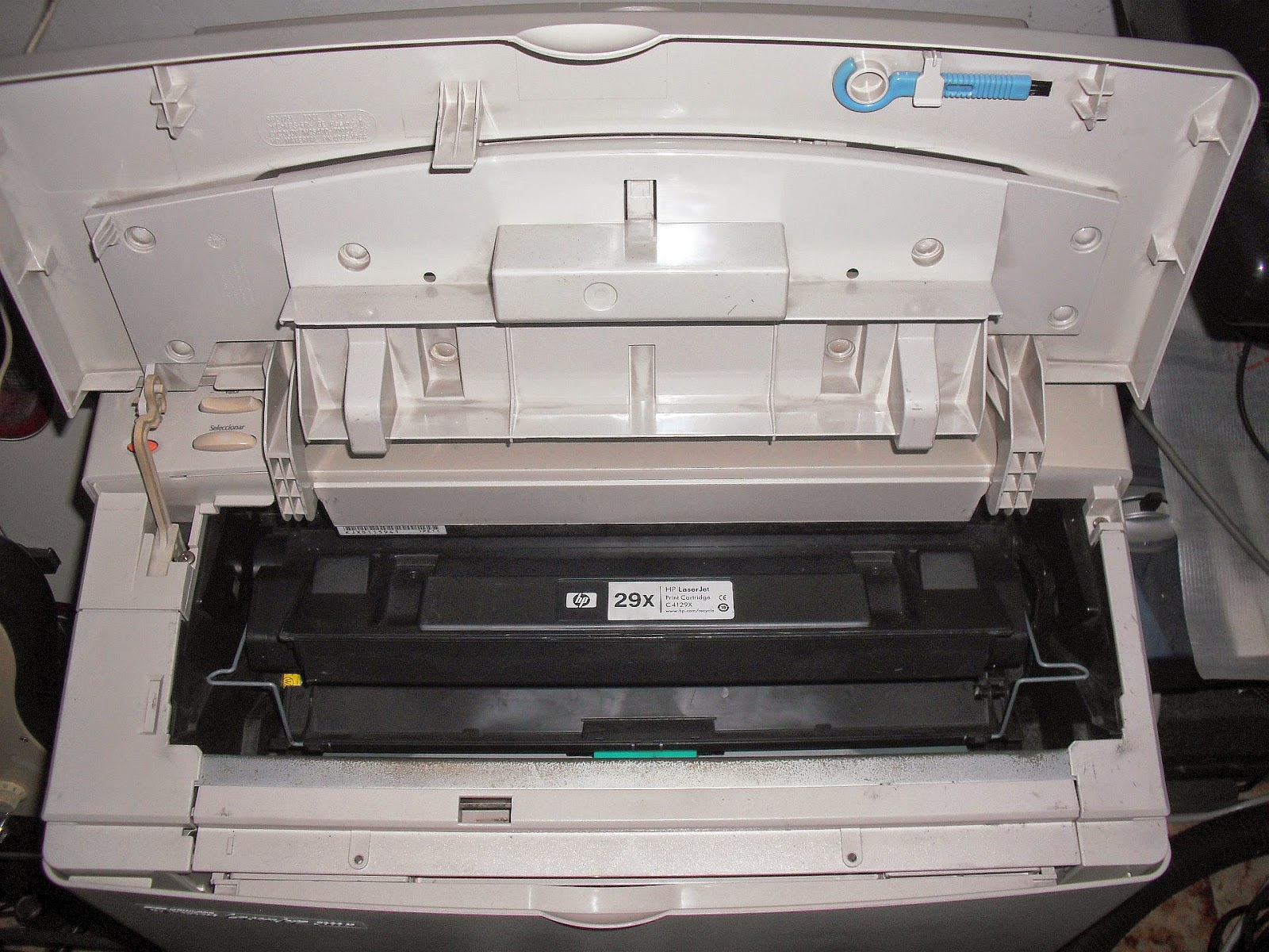 HP Laserjet 5000N repair and restoration | Embedded Systems
